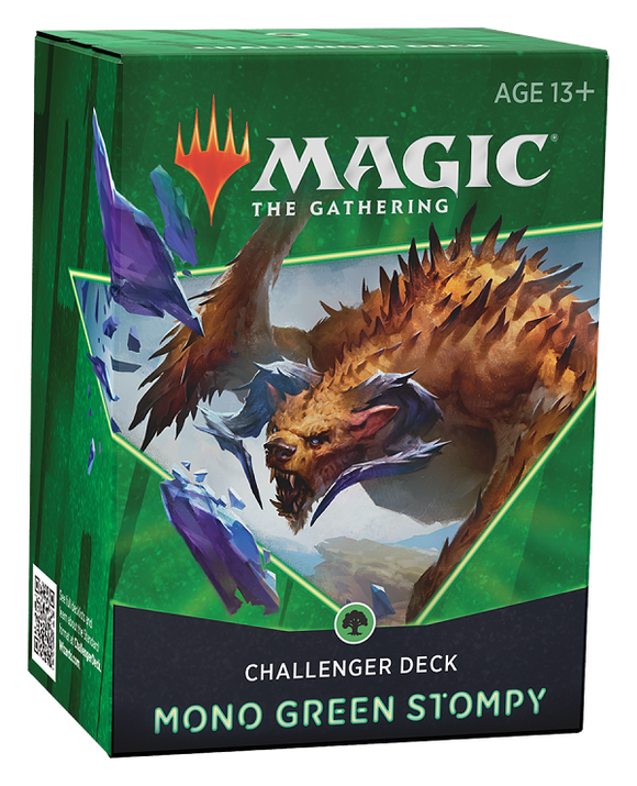 Mtg Magic The Gathering - Challenger Deck 2021 - Mono Green Stompy - Collector's Avenue