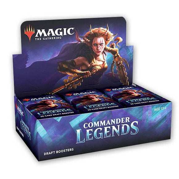 Mtg Magic The Gathering Commander Legends Draft Booster Box - Collector's Avenue