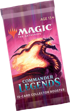 Mtg Magic The Gathering - Commander Legends Collector Booster Pack - Collector's Avenue
