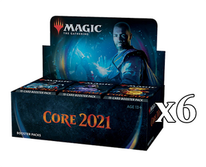 Mtg Magic The Gathering Core Set 2021 - Booster Case (6 Booster Boxes) - Collector's Avenue
