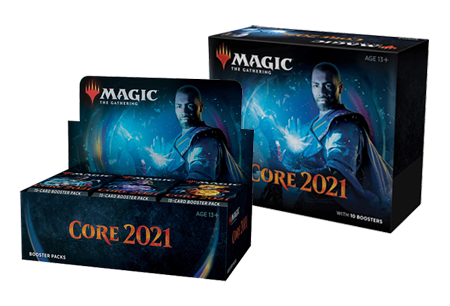 Mtg Magic The Gathering - Core Set 2021 Bundle Combo (1 Core Set 2021 Bundle + 1 Booster Box) - Collector's Avenue