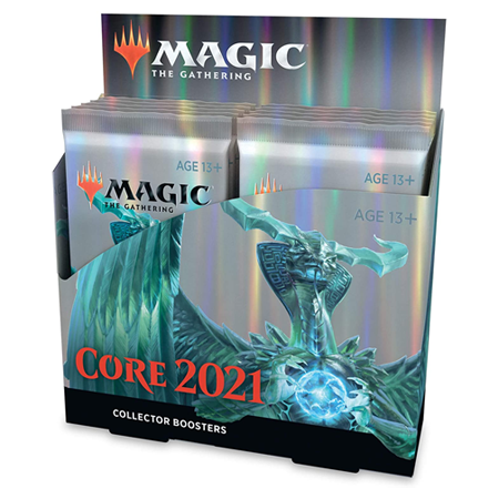 Mtg Magic The Gathering - Core Set 2021 Collector Booster Box - Collector's Avenue