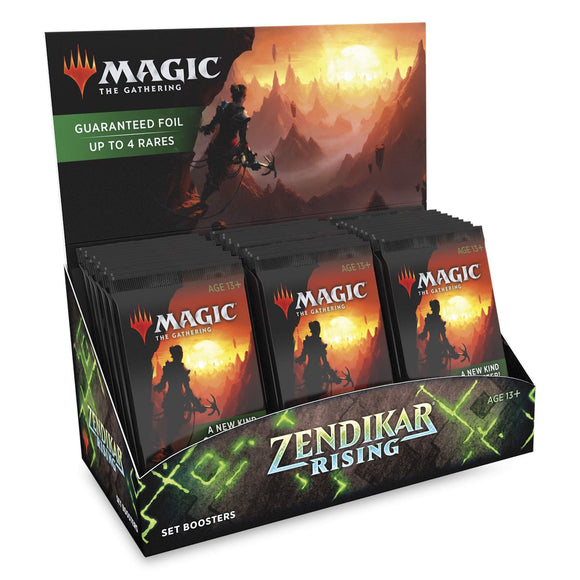 Mtg Magic The Gathering - Zendikar Rising Set Booster Box - Collector's Avenue