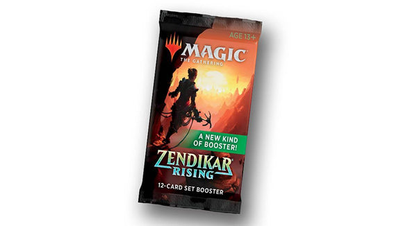 Mtg Magic The Gathering Zendikar Rising Set Booster Pack - Collector's Avenue