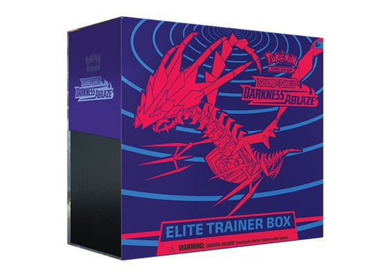 Pokemon Sword & Shield Darkness Ablaze Elite Trainer Box - Collector's Avenue