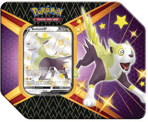 Pokemon Shining Fates Boltund V Tin - Collector's Avenue