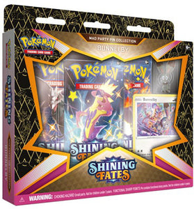 Pokemon Shining Fates Bunnelby Mad Party Pin Collection Box - Collector's Avenue