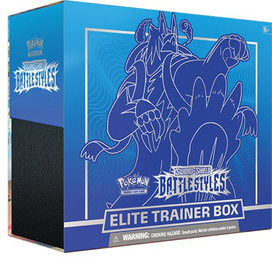 Pokemon Sword And Shield Battle Styles Rapid Strike Urshifu Elite Trainer Box - Collector's Avenue