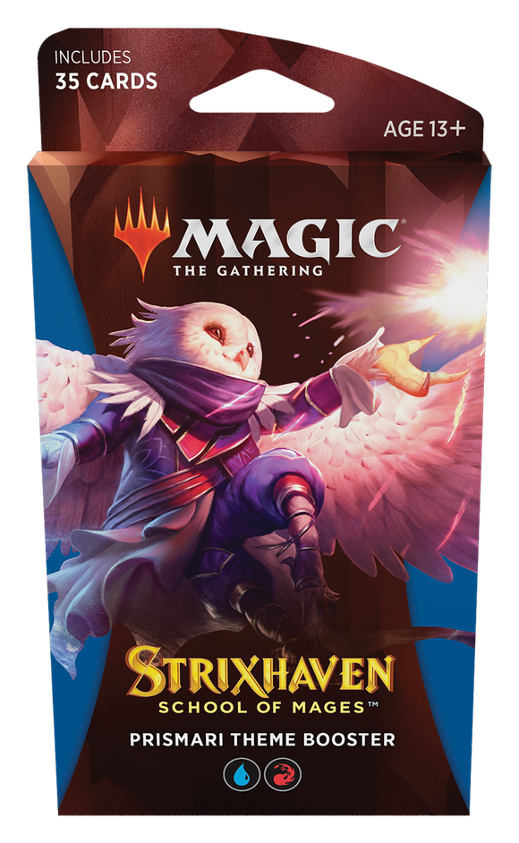 MTG Magic The Gathering Strixhaven Theme Booster Pack - Prismari - Collector's Avenue