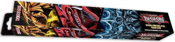 YuGiOh! Konami Playmat: Slifer, Obelisk & Ra - Collector's Avenue