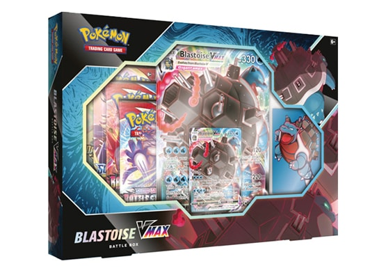 Pokemon Blastoise VMAX Battle Box
