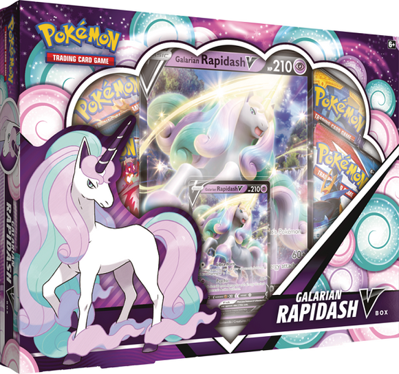 Pokemon Galarian Rapidash V Box - Collector's Avenue
