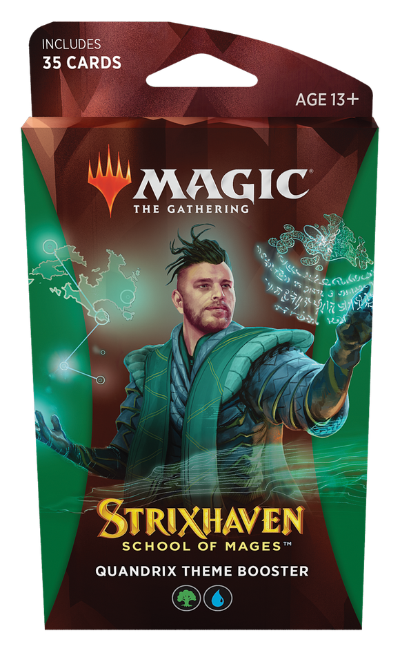 MTG Magic The Gathering Strixhaven Theme Booster Pack - Quandrix - Collector's Avenue