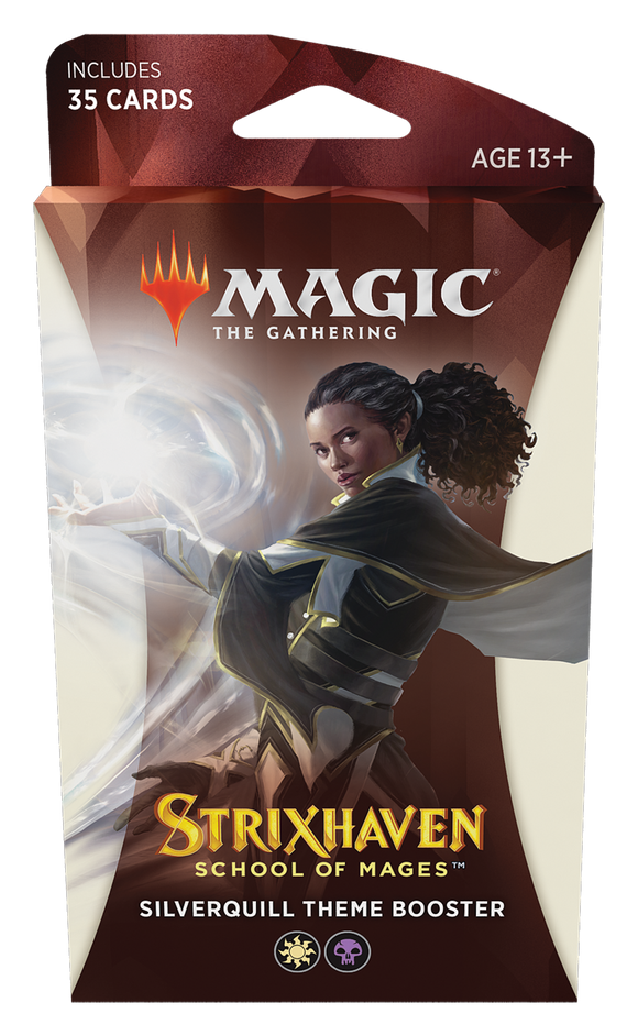 MTG Magic The Gathering Strixhaven Theme Booster Pack - Silverquill - Collector's Avenue