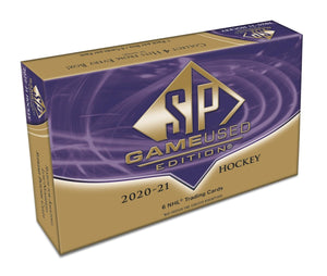 2020-21 Upper Deck SP Game Used Hockey Hobby Box - Collector's Avenue