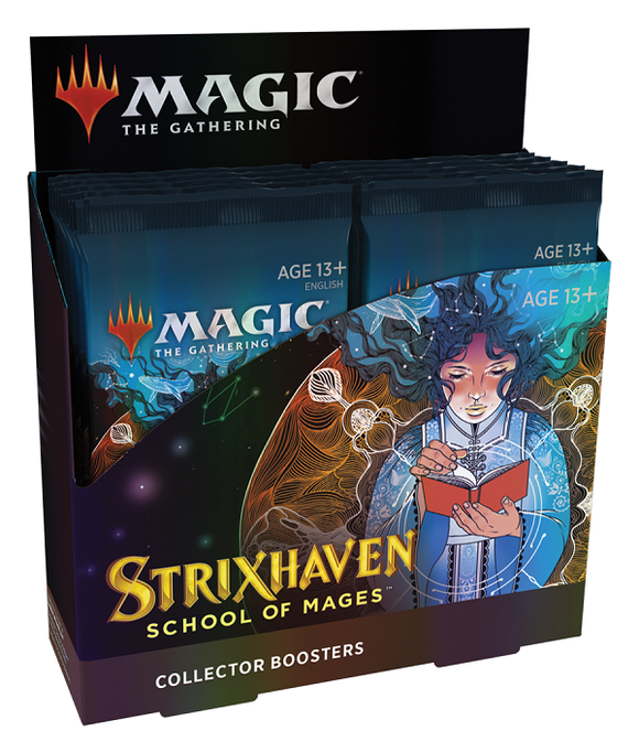 MTG Magic The Gathering Strixhaven Collector Booster Box