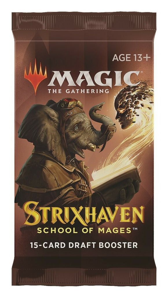 MTG Magic The Gathering Strixhaven Draft Booster Pack - Collector's Avenue
