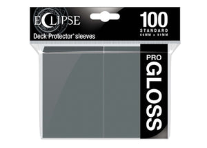 Ultra Pro Sleeves - 100 count - Standard Sized - Gloss Smoke Grey - Collector's Avenue