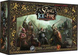 A Song of Ice & Fire: Stark vs Lannister Starter Set - Collector's Avenue