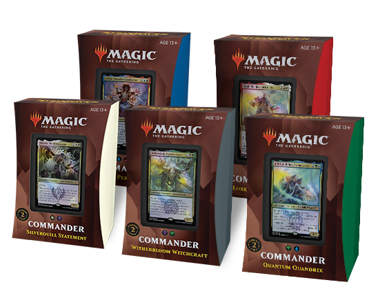 Mtg Magic The Gathering Strixhaven Commander 2021 - Set of 5 Decks - Collector's Avenue