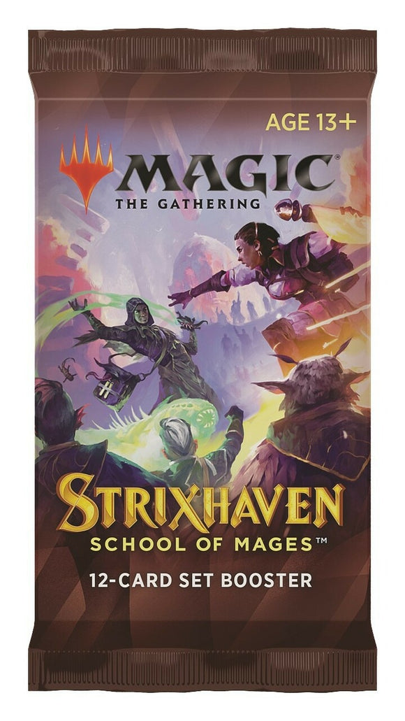 MTG Magic The Gathering Strixhaven Set Booster Pack - Collector's Avenue