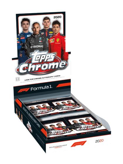 2020 Topps Chrome Formula 1 Racing Hobby Box - Collector's Avenue