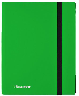 Ultra Pro 9-Pocket Eclipse PRO-Binder Lime Green - Collector's Avenue