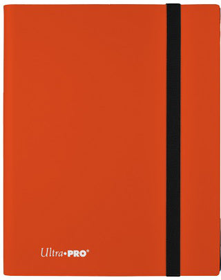 Ultra Pro 9-Pocket Eclipse PRO-Binder Pumpkin Orange - Collector's Avenue