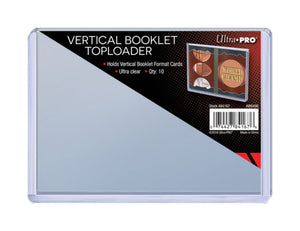 Ultra Pro - Vertical Booklet Toploader Pack (10 Count) - Collector's Avenue
