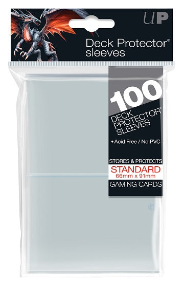 Ultra PRO 100ct Clear Standard Deck Protectors - Collector's Avenue