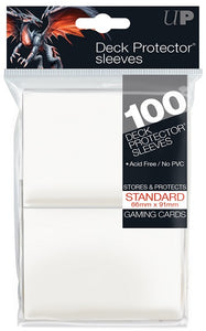 Ultra PRO 100ct White Standard Deck Protectors - Collector's Avenue