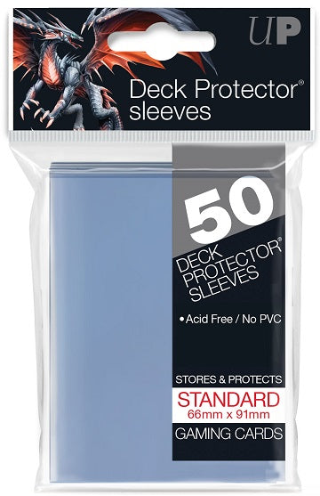 Ultra PRO 50ct Clear Standard Deck Protectors - Collector's Avenue