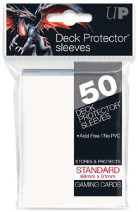 Ultra PRO 50ct White Standard Deck Protectors - Collector's Avenue