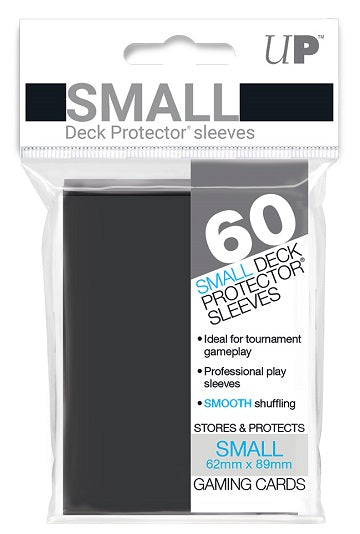 Ultra PRO Small Deck Protectors 60ct Black - Collector's Avenue