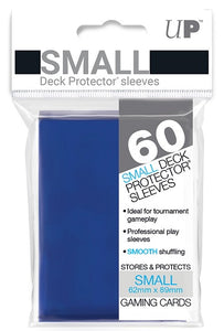 Ultra PRO Small Deck Protectors 60ct Blue - Collector's Avenue