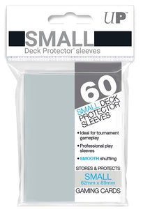 Ultra PRO Small Deck Protectors 60ct Clear - Collector's Avenue