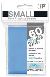 Ultra PRO Small Deck Protectors 60ct Light Blue - Collector's Avenue