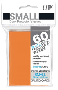 Ultra PRO Small Deck Protectors 60ct Orange - Collector's Avenue