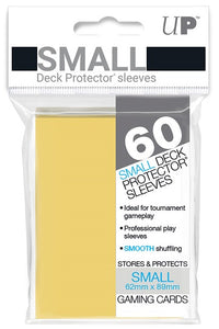 Ultra PRO Small Deck Protectors 60ct Yellow - Collector's Avenue