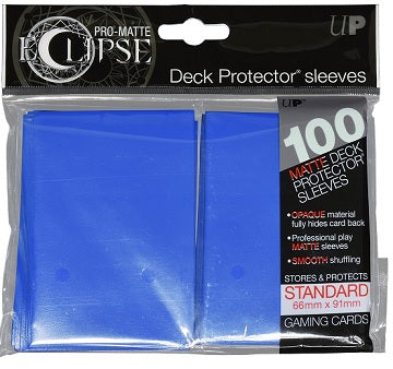 Ultra Pro Sleeves - 100 count - Standard Sized - Pro-Matte Eclipse Blue - Collector's Avenue