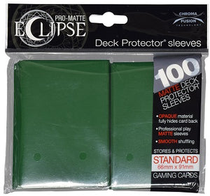 Ultra Pro Sleeves - 100 count - Standard Sized - Pro-Matte Eclipse Dark Green - Collector's Avenue
