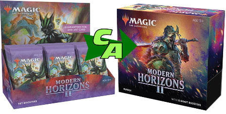 MTG Magic The Gathering Modern Horizons 2 (Set Booster + Bundle) Combo #2 - Collector's Avenue