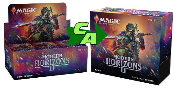 MTG Magic The Gathering Modern Horizons 2 (Draft Booster + Bundle) Combo #1 - Collector's Avenue