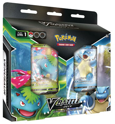 Pokemon V Battle Deck - Venusaur VS Blastoise - Collector's Avenue