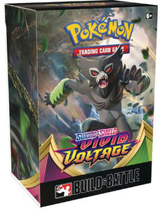 Pokemon Sword And Shield Build And Battle - Vivid Voltage - Collector's Avenue