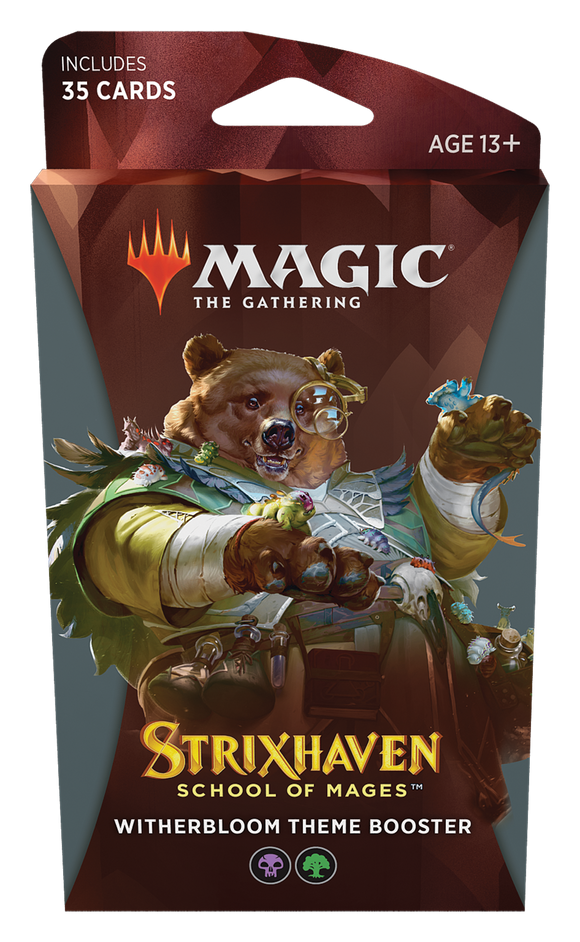 MTG Magic The Gathering Strixhaven Theme Booster Pack - Witherbloom - Collector's Avenue