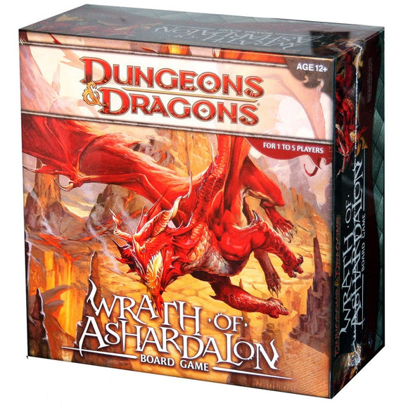 Dungeons & Dragons: Wrath Of Ashardalon Adventure System Board Game - Collector's Avenue