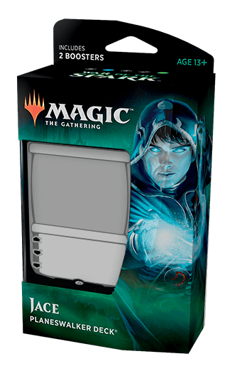 Mtg Magic The Gathering War Of The Spark Planeswalker Deck Jace - Collector's Avenue