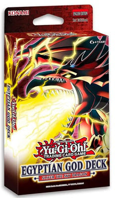 Yu-Gi-Oh Slifer the Sky Dragon Egyptian God Deck - Collector's Avenue
