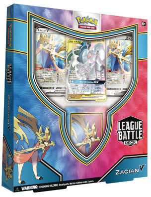 Pokemon Zacian V League Battle Deck - Collector's Avenue